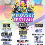 Плакат фестиваль Mikovský 2017